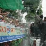 2010年頃のヤンゴンの水かけ祭り
