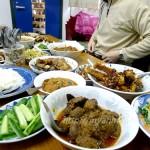 イメージ写真です。東京のミャンマー僧院での振る舞われたお料理