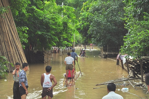 ミャンマー洪水